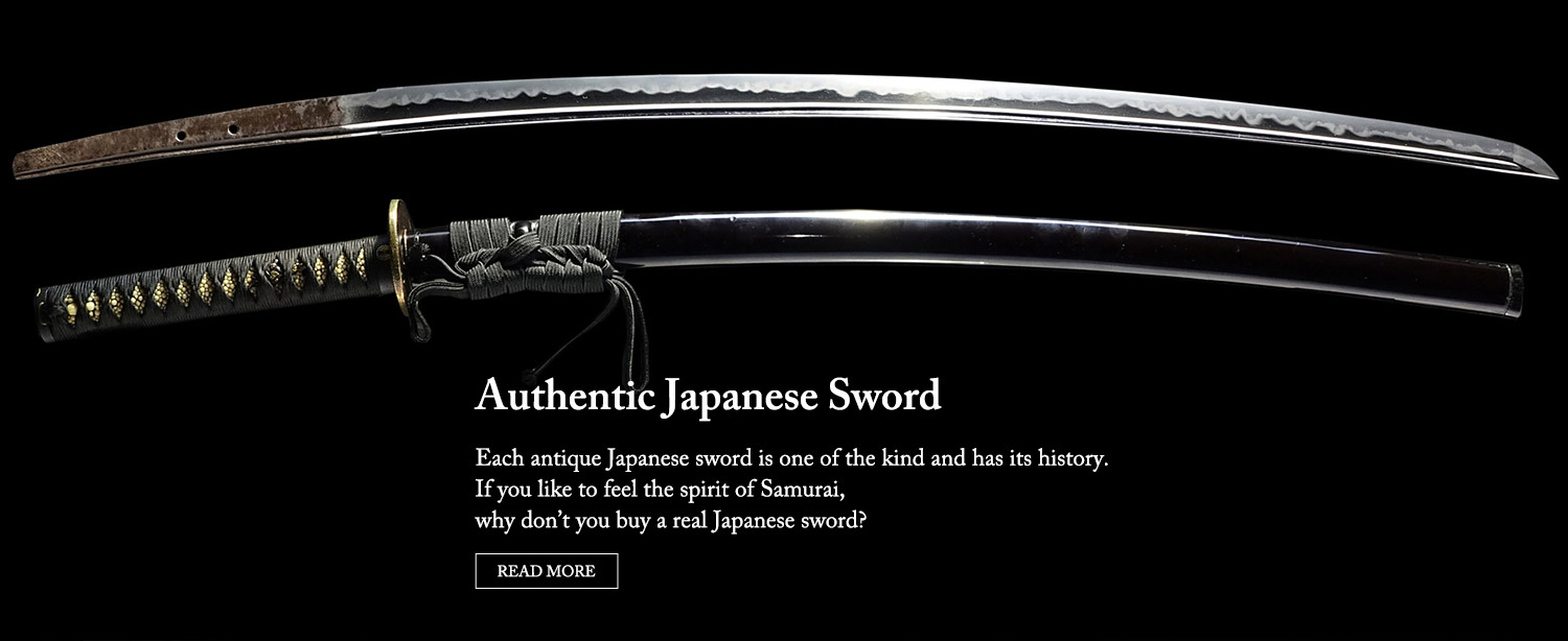 Authentic Japanese Sword