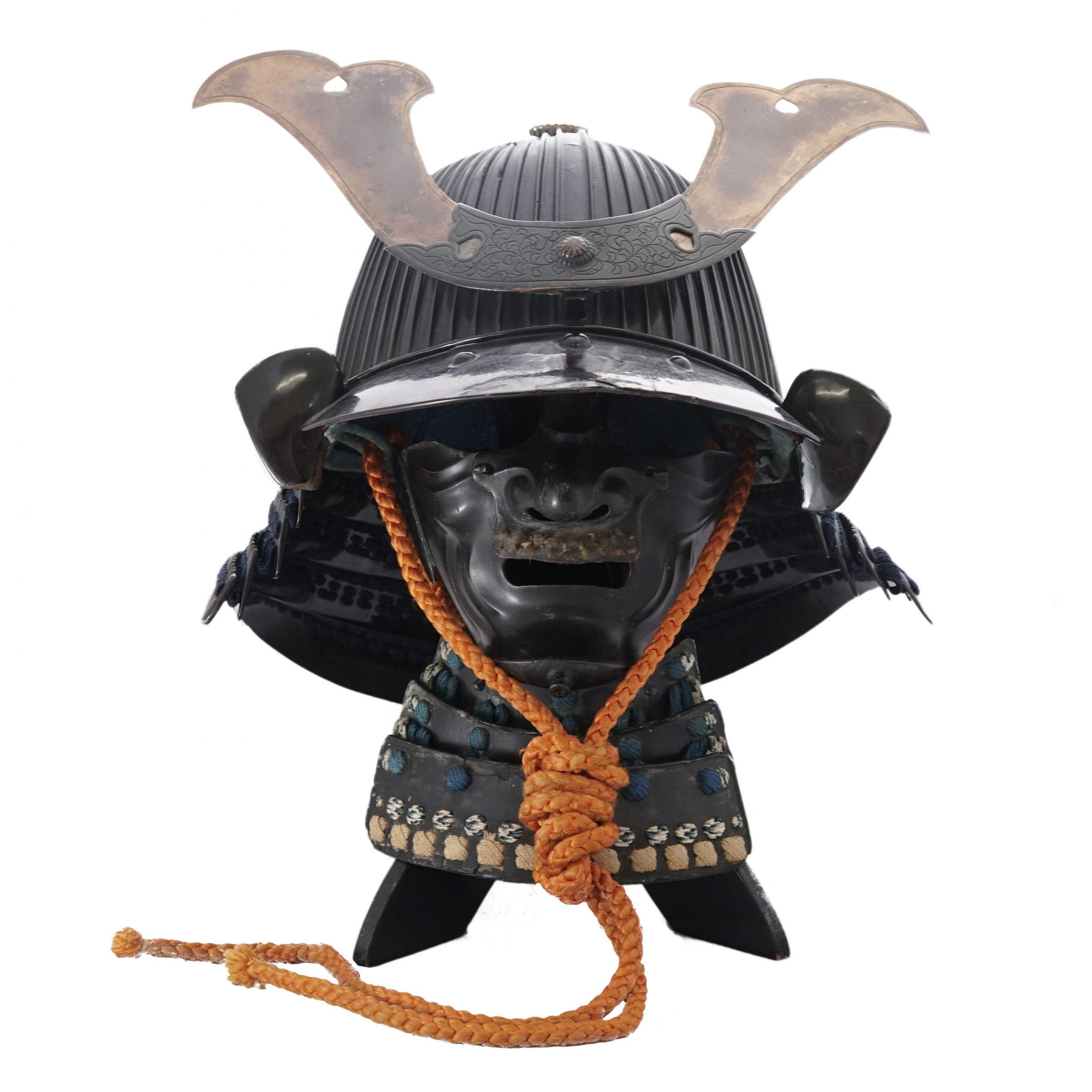 Antique Samurai Helmet 六十二間筋兜 Samurai Museum Shop